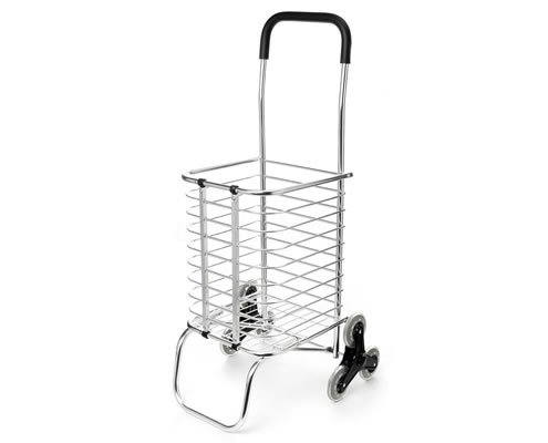 Folding Portable Stair Climbing Shopping Cart