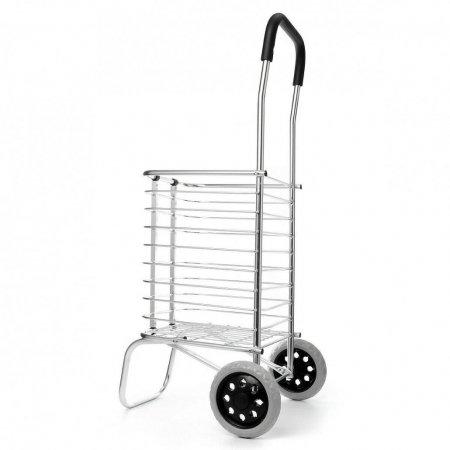 Folding Laundry Basket on Wheels