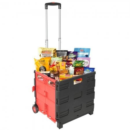 Cart Wheeled Rolling Crate