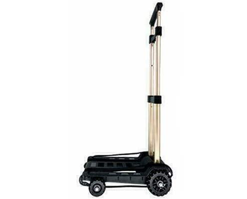 4 Wheels Portable Folding Trolley