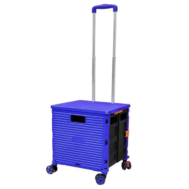 Handcart Collapsible 4 Rotate Wheels
