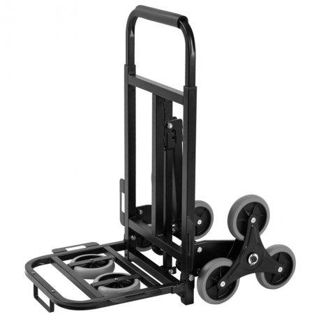 3 wheel stair climbing folding cart